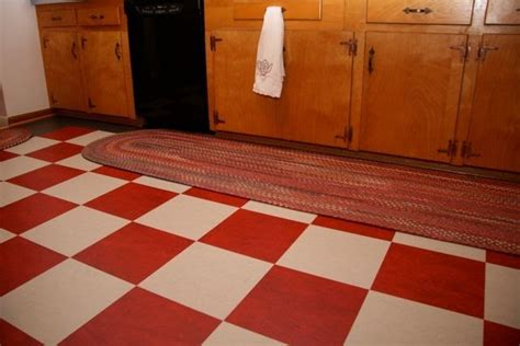 Red and white checkerboard floor where to find it