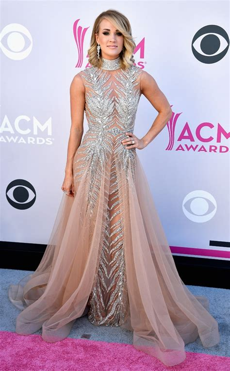 Red carpet at the 2017 ACM Awards