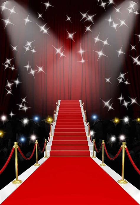 Red carpet backdrop Etsy