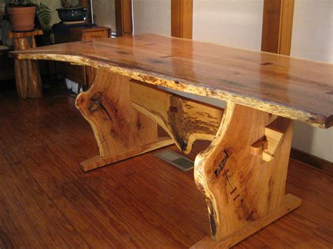 Red dining table Etsy