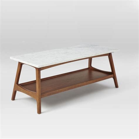 Reeve Mid Century Rectangular Coffee Table west elm