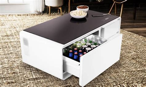 Refrigerator Coffee Table Cool Material
