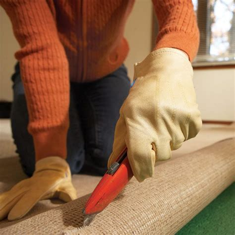 Removing Old Carpet Family Handyman