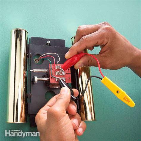 Repairing a Door Chime or Doorbell The Home Improvement