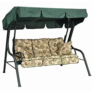 Replacement Canopy for Palma Swing Seat 3 Seater Clematis