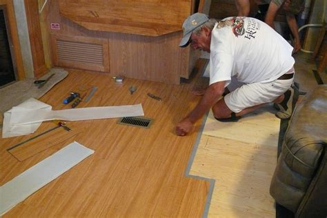 Replacing the carpet in a 5th wheel The RV Forum