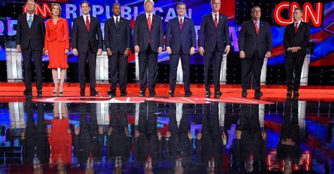 Republican Debate The Full Transcript of Las Vegas Debate