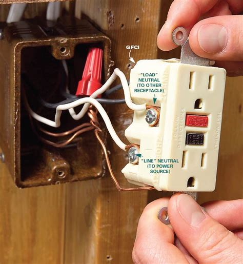Residential Aluminum Wiring GFCI receptacle installation