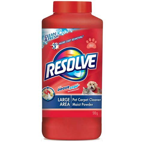 Resolve Carpet Cleaner Moist Powder Resolve