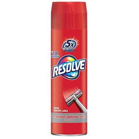 Resolve High Traffic Area Foam Carpet Cleaner Walmart ca