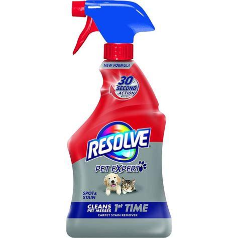 Resolve Pet Stain Odor Carpet Cleaner 22 fl oz Bottle
