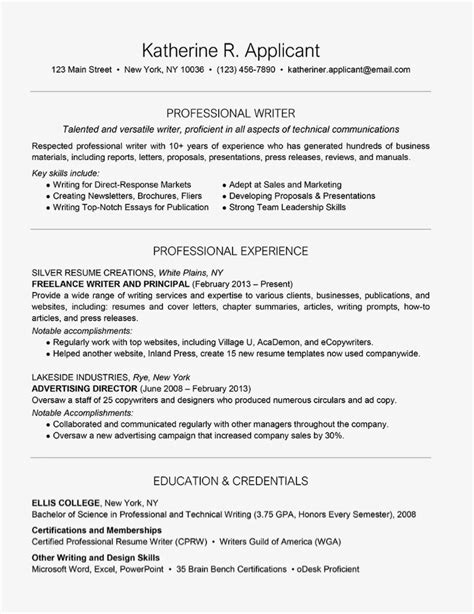 Resume Examples and Writing Tips thebalance