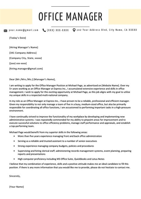 Resumes and Cover Letters templates office