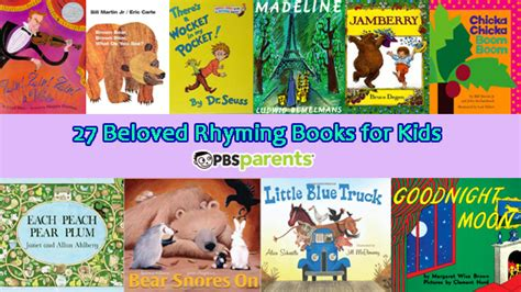 Rhyming Books for Kids Adventures in Learning PBS Parents