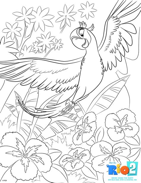 Rio coloring pages on Coloring Book info
