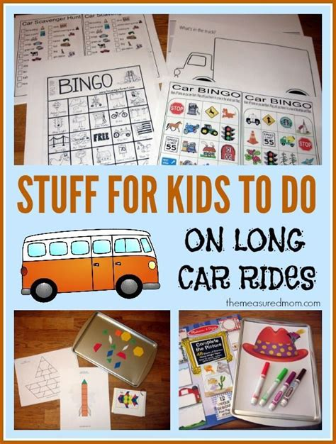 Road Trip Activities for Kids Ages 2 8 The Measured Mom
