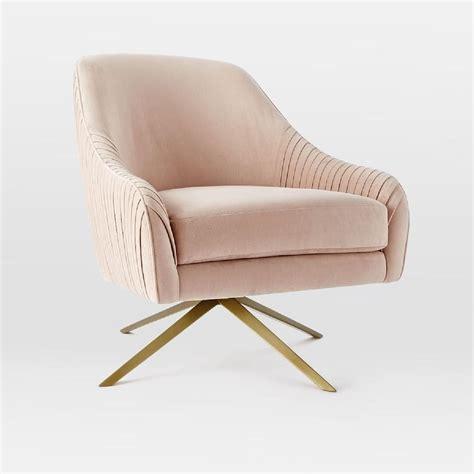 Roar Rabbit Swivel Chair Dusty Blush west elm AU