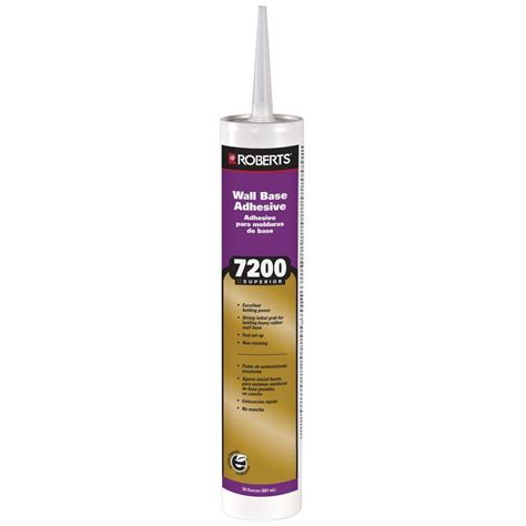 Roberts 7200 30 fl oz Wall and Cove Base Adhesive in