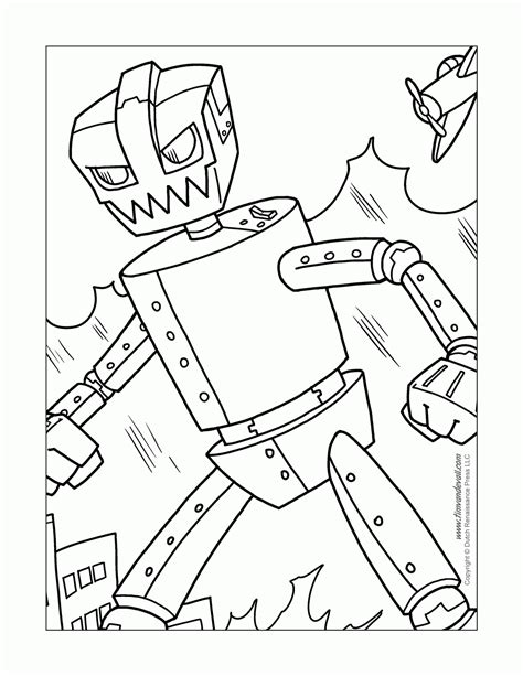 Robots coloring pages on Coloring Book info
