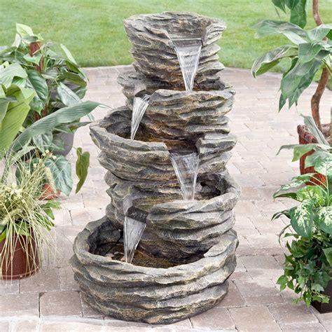 Rock Waterfall Home Garden eBay