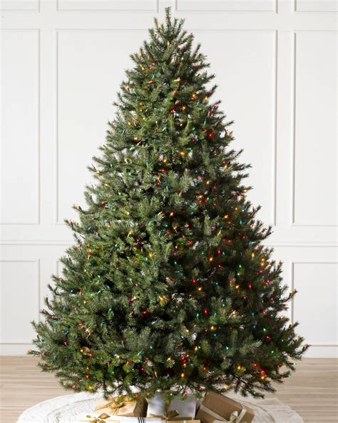 Rocky Mountain Pine Artificial Christmas Tree Balsam Hill