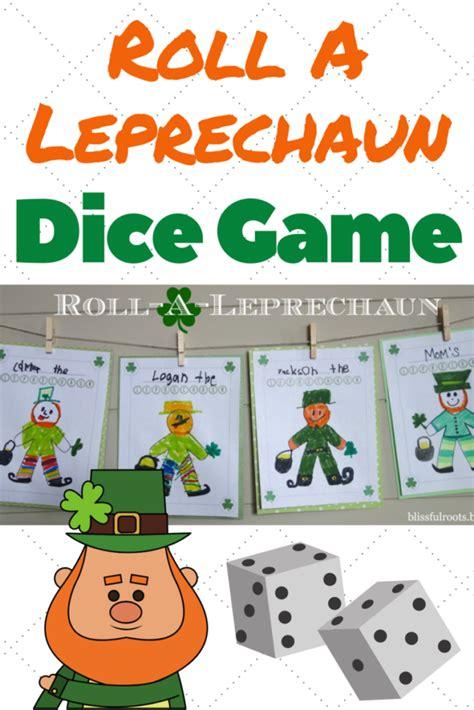 Roll A Leprechaun Game Fun St Patrick s Day Activity
