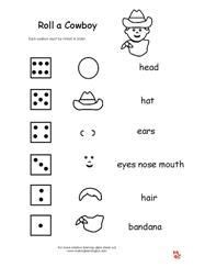 Roll a Theme Dice Fun Pages Making Learning Fun