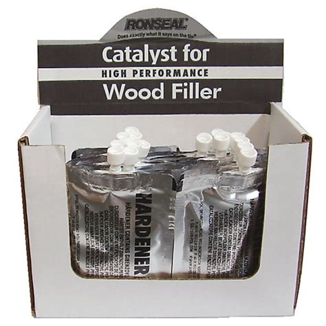 Ronseal High Performance Wood Filler Catalyst 30g Wickes