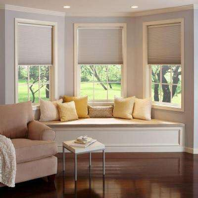 Room Darkening Blackout Arch Cellular Shade TheHomeDepot