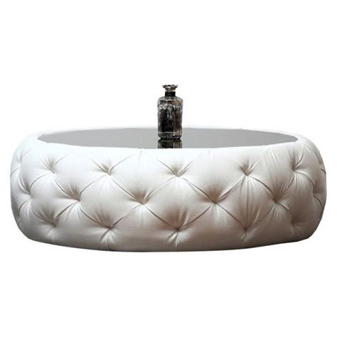 Roseville Round Leather Coffee Table Abbyson Living Target