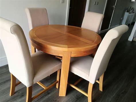Round Dining Sets Oak Furniture Land