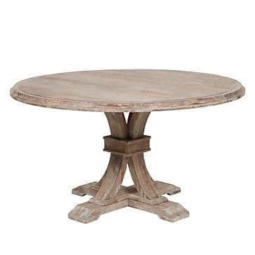 Round Dining Table Knock Off Decor