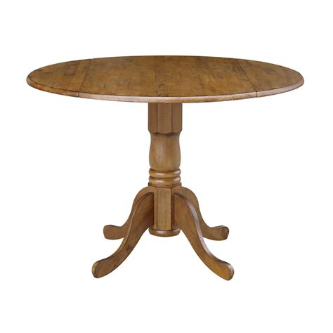 Round Dining Tables with Drop Leaves Walmart