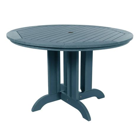 Round Plastic Patio Dining Table Sears