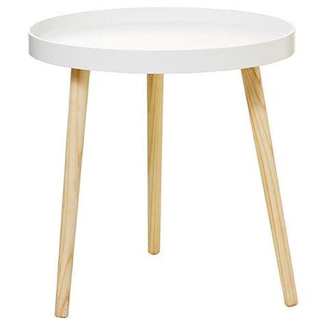 Round Side Tray Table White Target Australia