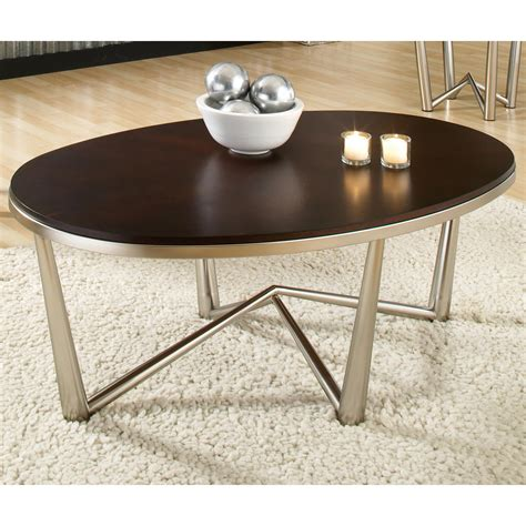Round and Oval Coffee Tables End Tables and Hall Tables