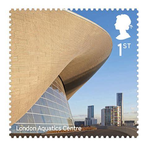 Royal Mail celebrates contemporary architecture Zaha