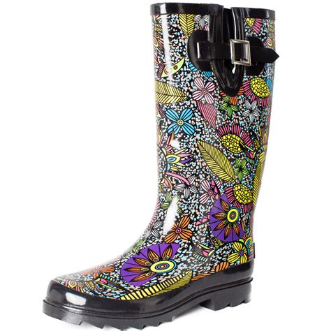 Rubber Boots Rain Boots Waterproof Boots Academy