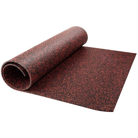 Rubber Floor Covering Products Available in Rolls Tiles