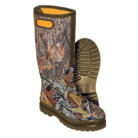 Rubber Hunting Boots Camo Boots