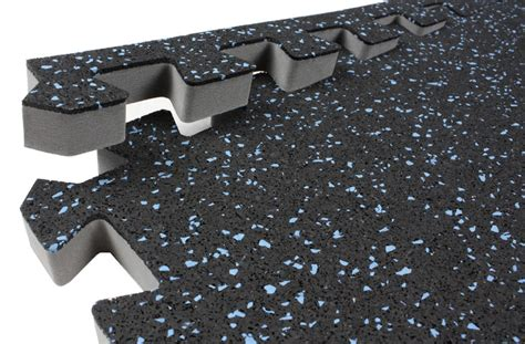 Rubber Soft Foam and Interlocking Gym Floor Tiles