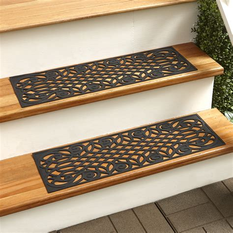 Rubber Stair Treads Set of 2 Improvements Catalog