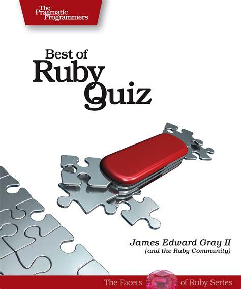 Ruby Quiz