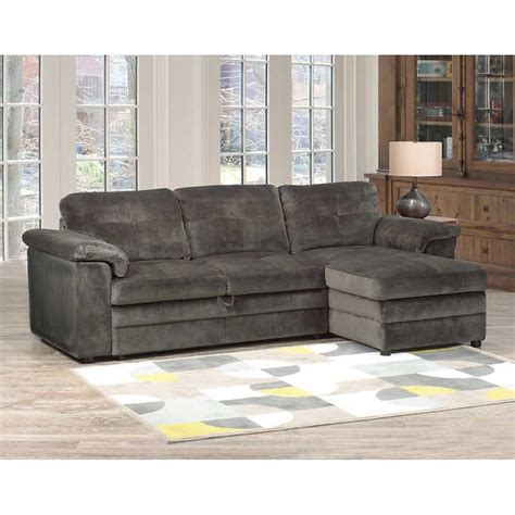 Russ Sofa Bed with Chaise Costco