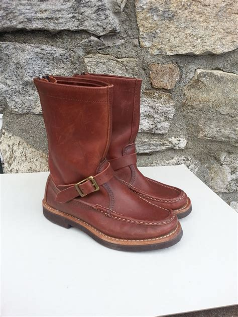 Russell Moccasin Hand Made Custom Boots and Custom Shoes