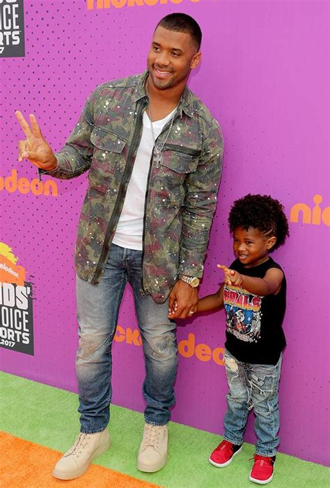 Russell Wilson Rocks the Kids Choice Sports Carpet With