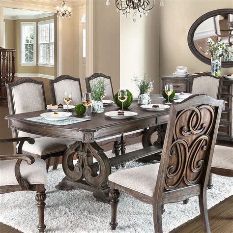 Rustic Dining Room Tables Overstock