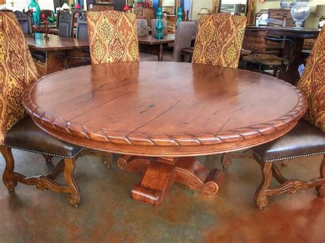 Rustic Dining Table Catalog Mesquite Tables Rustic Round