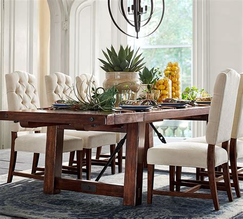 Rustic Furniture Dining Table Pottery Barn