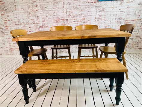 Rustic Reclaimed Wood Farmhouse Dining Forget Me Knot